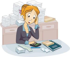 услуги бухгалтера, юридические услуги, секретарские услуги